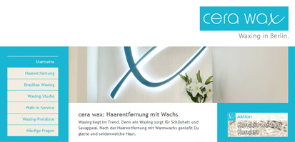Cera Wax - Waxing in Berlin.