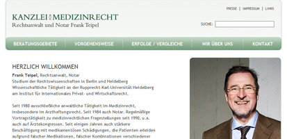 Rechtsanwalt Frank Teipel
